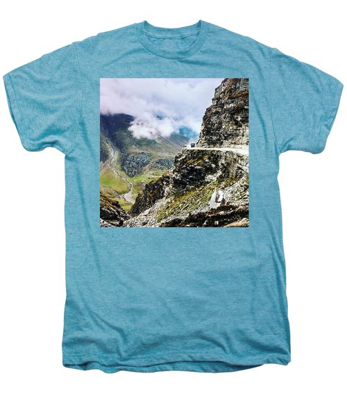 Himalayan Roads Are Good For Your Men's Premium T-Shirt