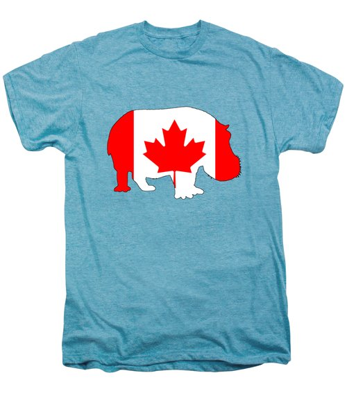 Hippopotamus Canada Men's Premium T-Shirt by Mordax Furittus