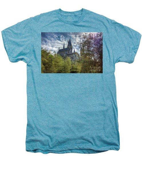 Hogwarts Castle Men's Premium T-Shirt
