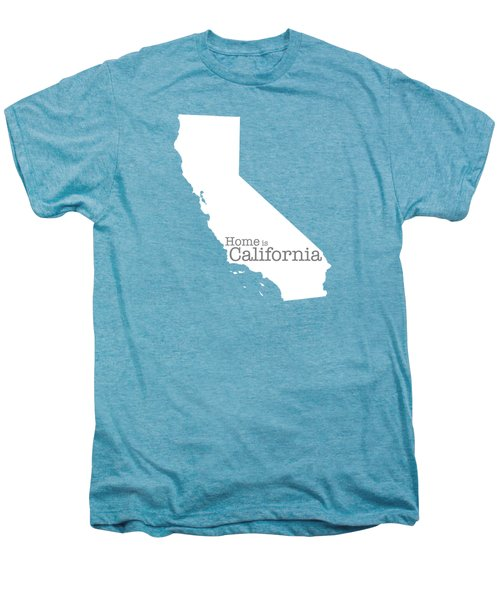 Home Is California Men's Premium T-Shirt by Bruce Stanfield