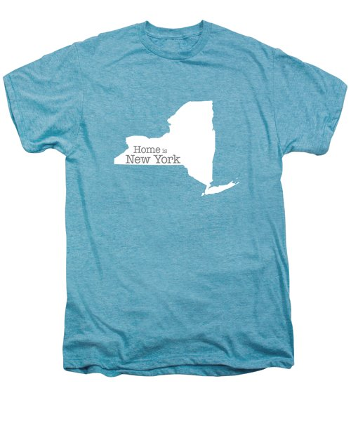 Home Is New York Men's Premium T-Shirt by Bruce Stanfield