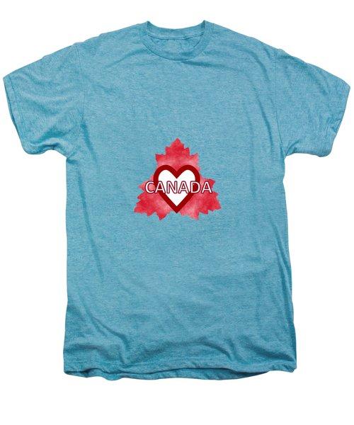 Home Sweet Canada Men's Premium T-Shirt by Kathleen Sartoris