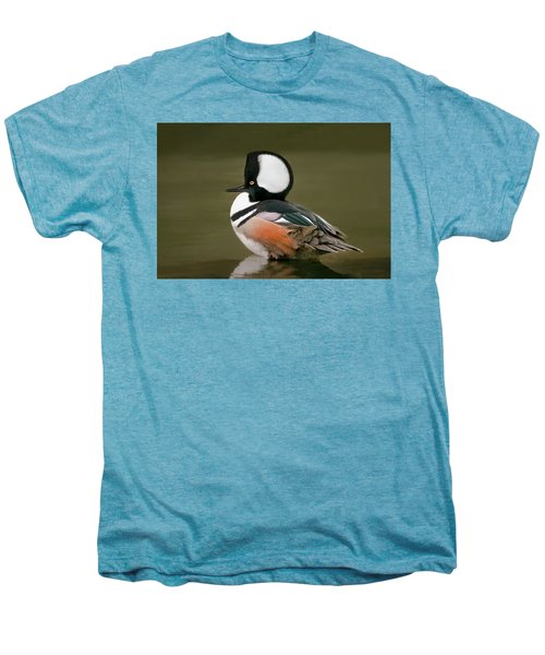 Hooded Merganser Men's Premium T-Shirt