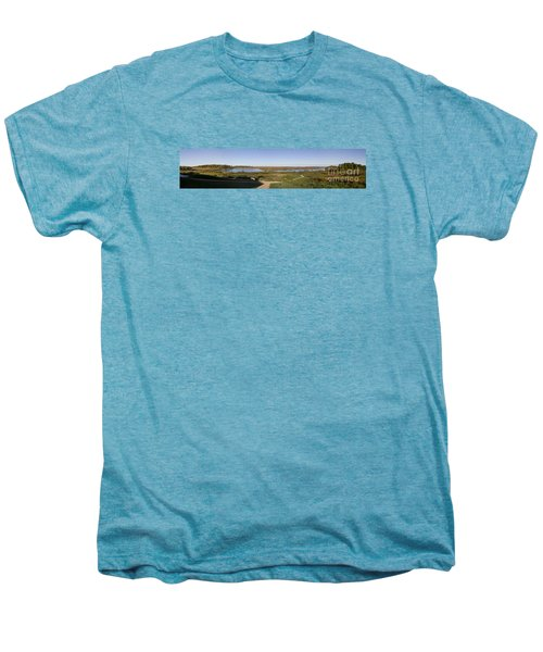 Men's Premium T-Shirt featuring the photograph Horicon Marsh Wildlife Refuge by Ricky L Jones
