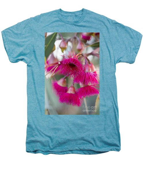 Men's Premium T-Shirt featuring the photograph Hot Pink by Linda Lees