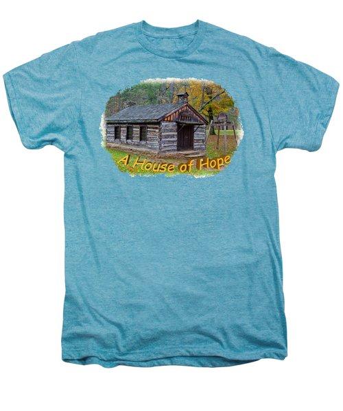 House Of Hope Men's Premium T-Shirt by John M Bailey