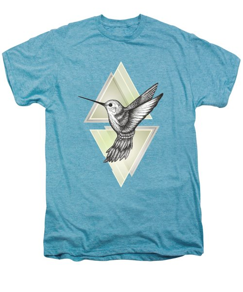 Hummingbird Men's Premium T-Shirt by Barlena