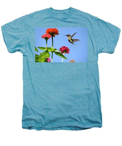 Hummingbird Happiness Men's Premium T-Shirt