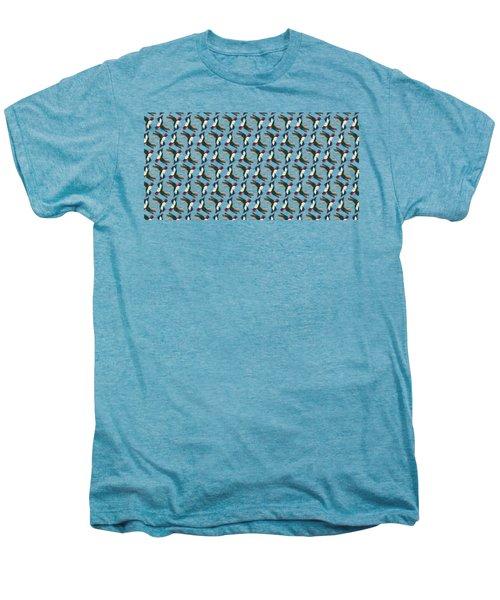 Hummingbird Pattern Men's Premium T-Shirt
