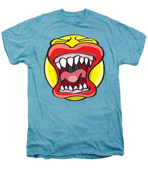 Hungry Pacman Men's Premium T-Shirt by Jorgo Photography - Wall Art Gallery