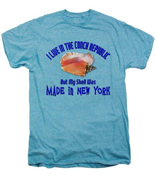 I Live In The Conch Republic Men's Premium T-Shirt