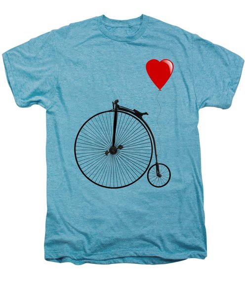 I Love Cycling Men's Premium T-Shirt