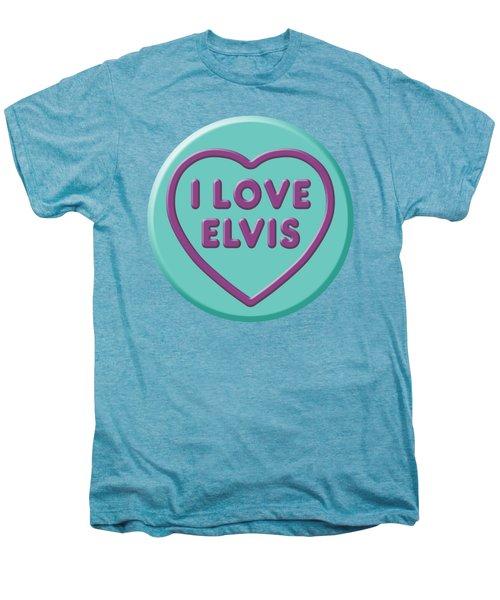 I Love Elvis Men's Premium T-Shirt