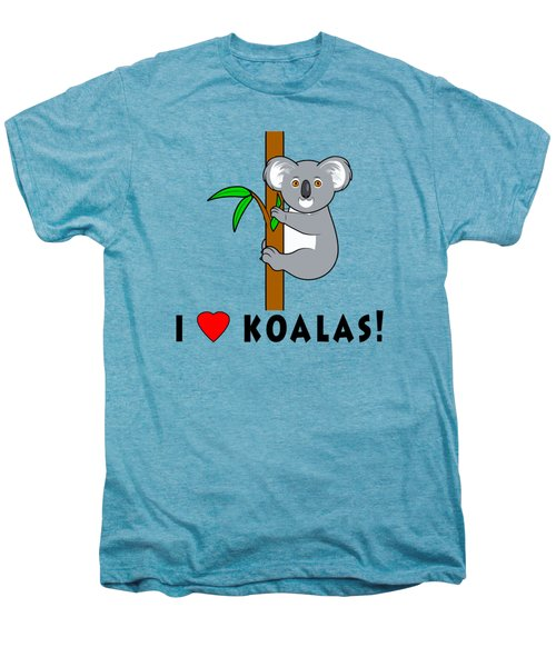 I Love Koalas Men's Premium T-Shirt by A