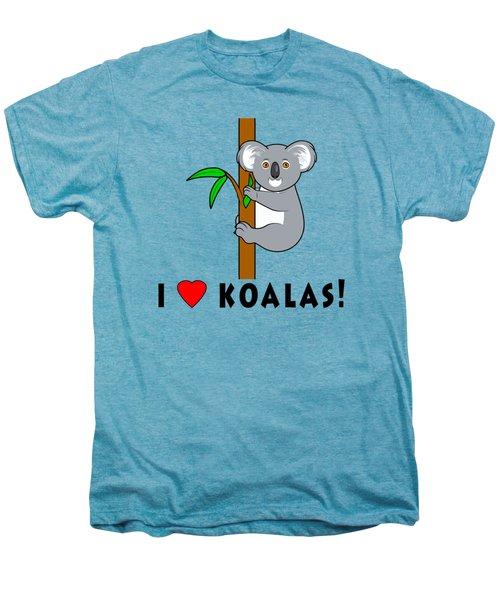 I Love Koalas Men's Premium T-Shirt