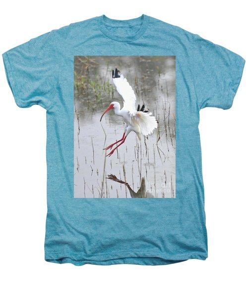 Ibis Soft Water Landing Men's Premium T-Shirt