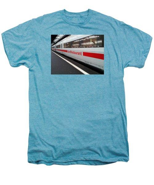 Ice Bord Restaurant At Zurich Mainstation Men's Premium T-Shirt