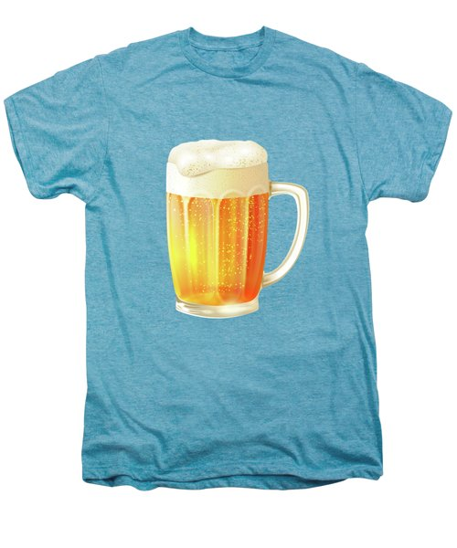 Ice Cold Beer Pattern Men's Premium T-Shirt by Little Bunny Sunshine