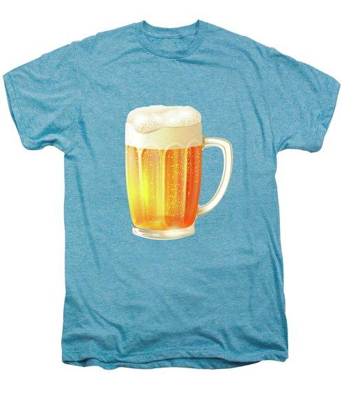 Ice Cold Beer Pattern Men's Premium T-Shirt