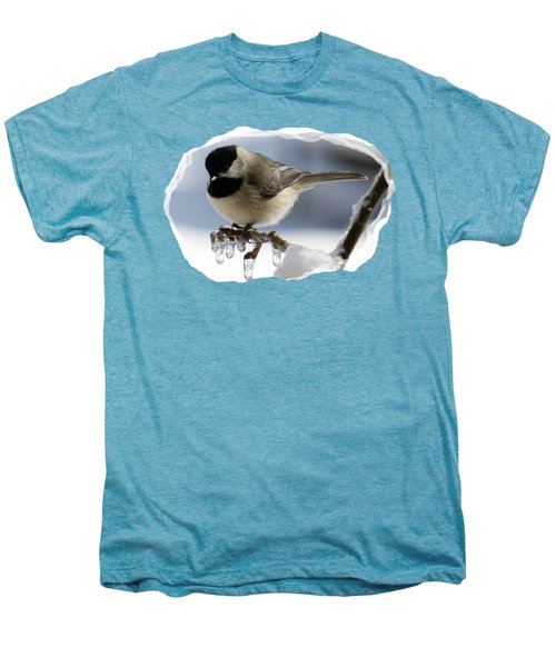 Icicle Perch Men's Premium T-Shirt by Karen Beasley