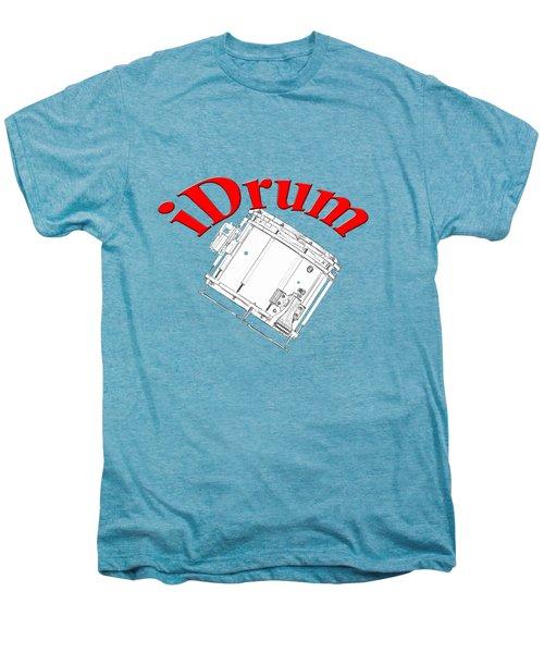 iDrum Men's Premium T-Shirt by M K  Miller