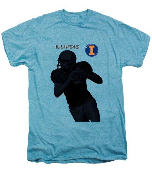 Illinois Football Men's Premium T-Shirt