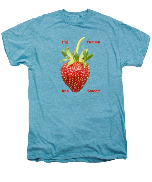 Im Yummy And Sweet Men's Premium T-Shirt by Thomas Young