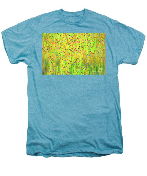 Impressionist Meadow Men's Premium T-Shirt