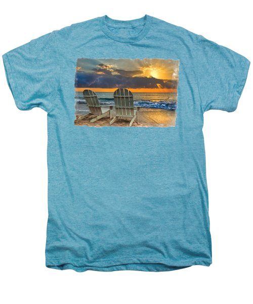 In The Spotlight Bordered Men's Premium T-Shirt