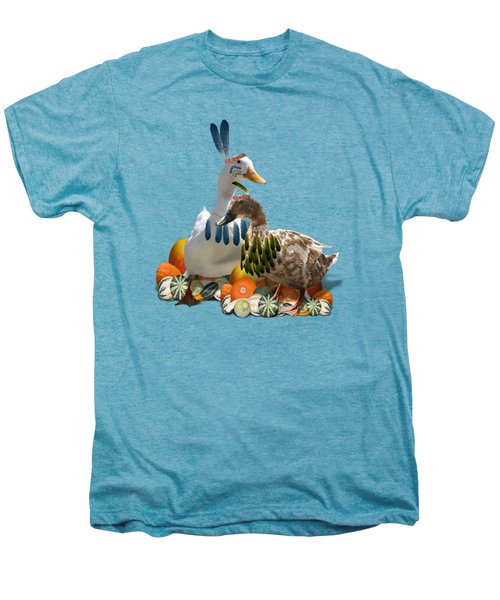 Indian Ducks Men's Premium T-Shirt by Gravityx9 Designs