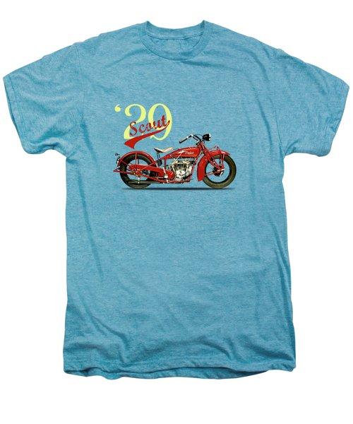 Indian Scout 101 1929 Men's Premium T-Shirt by Mark Rogan
