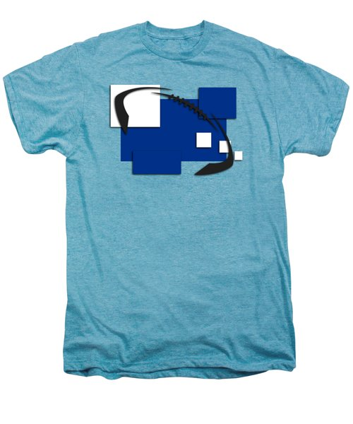 Indianapolis Colts Abstract Shirt Men's Premium T-Shirt by Joe Hamilton