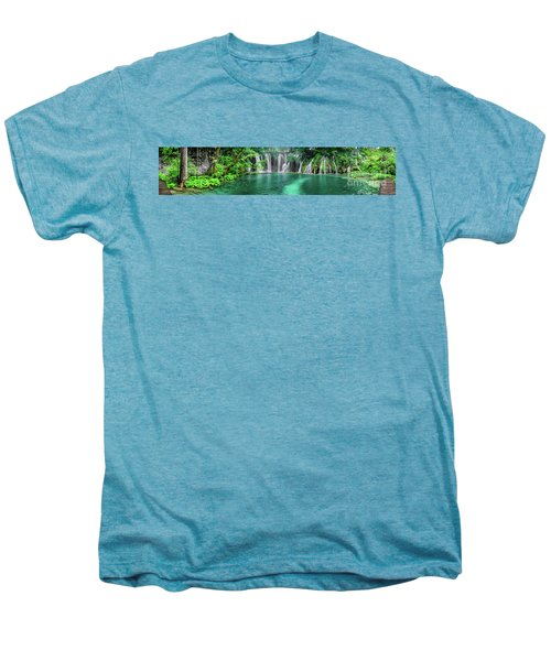 Into The Waterfalls - Plitvice Lakes National Park Croatia Men's Premium T-Shirt