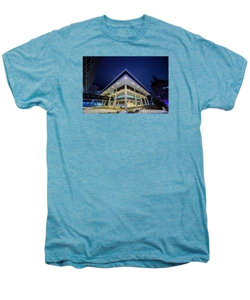 Inverted Pyramid Men's Premium T-Shirt by Randy Scherkenbach