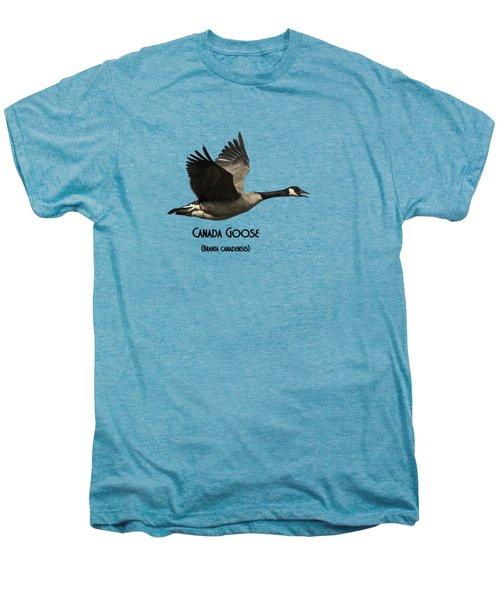 Isolated Canada Goose 2015-1 Men's Premium T-Shirt