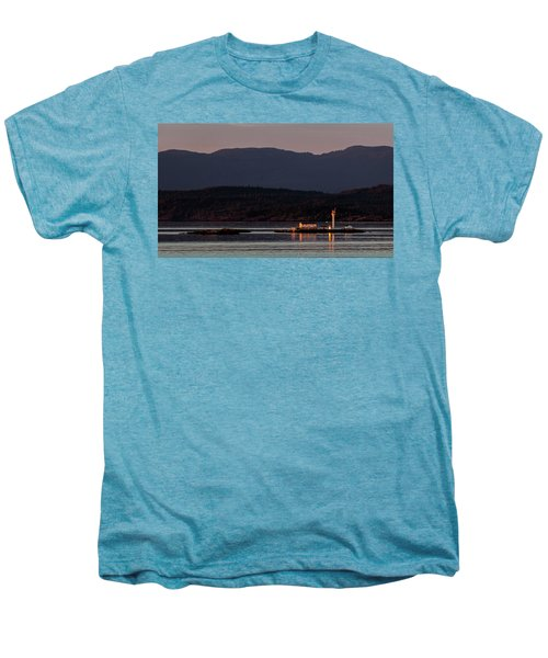 Isolated Lighthouse Men's Premium T-Shirt