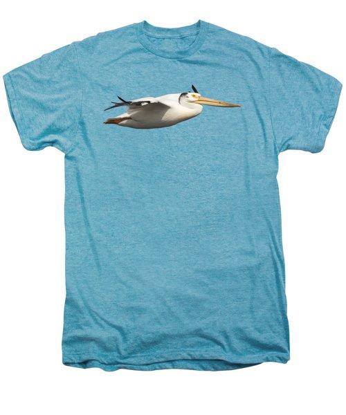 Isolated Pelican 2016-1 Men's Premium T-Shirt