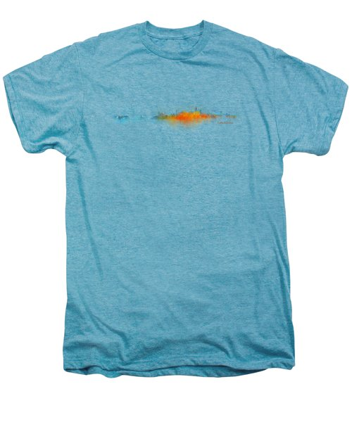 Istanbul City Skyline Hq V03 Men's Premium T-Shirt by HQ Photo