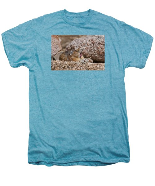 Men's Premium T-Shirt featuring the photograph It's Been A Long Day by Gary Lengyel
