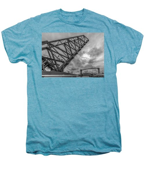 Jackknife Bridge To The Clouds B And W Men's Premium T-Shirt