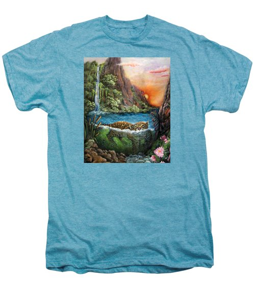 Jaguar Sunset  Men's Premium T-Shirt