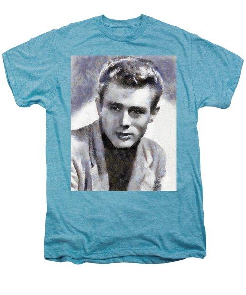 James Dean By Sarah Kirk Men's Premium T-Shirt