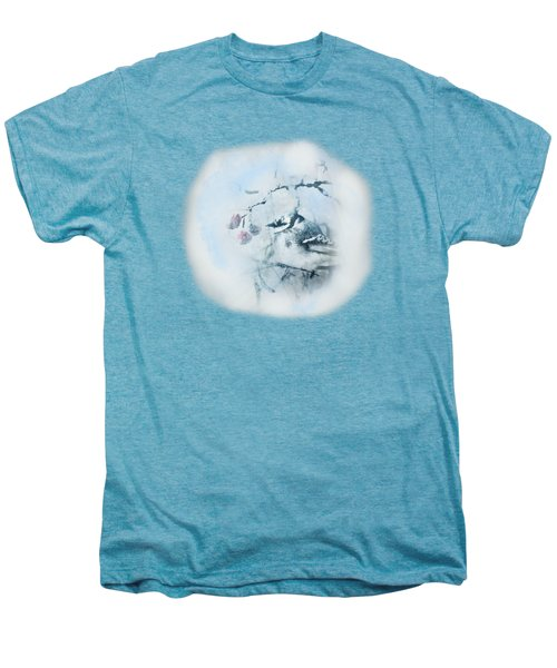 January Bluejay  Men's Premium T-Shirt by Susan Capuano
