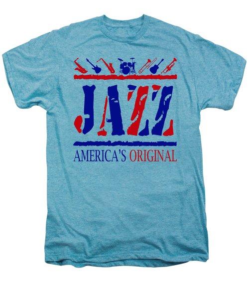 Jazz Americas Original Men's Premium T-Shirt by David G Paul
