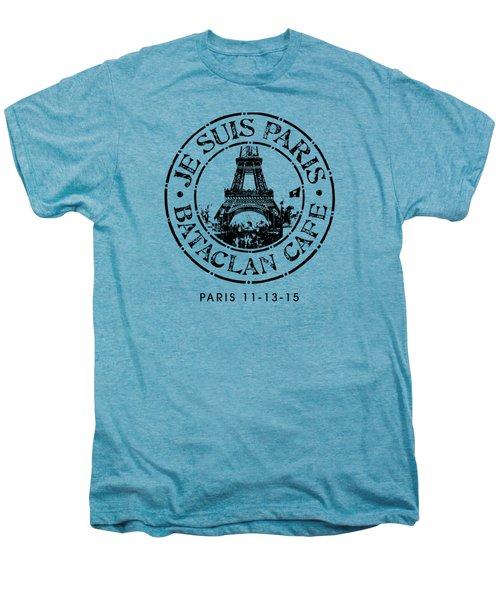 Je Suis Paris Men's Premium T-Shirt by Gary Grayson
