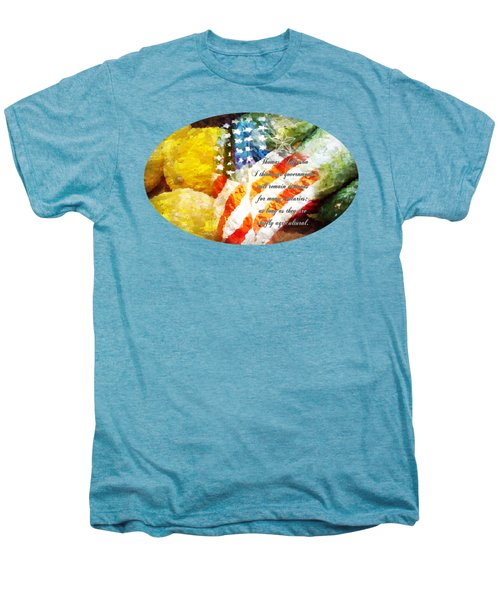 Jefferson's Farm Men's Premium T-Shirt by Anita Faye