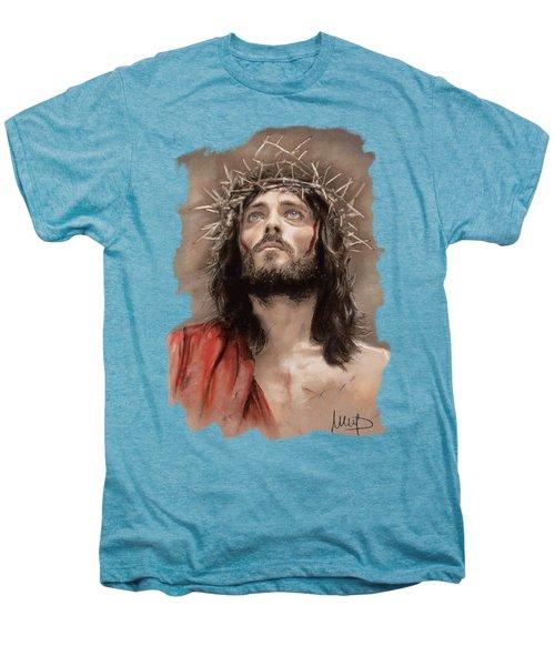 Jesus  Men's Premium T-Shirt by Melanie D