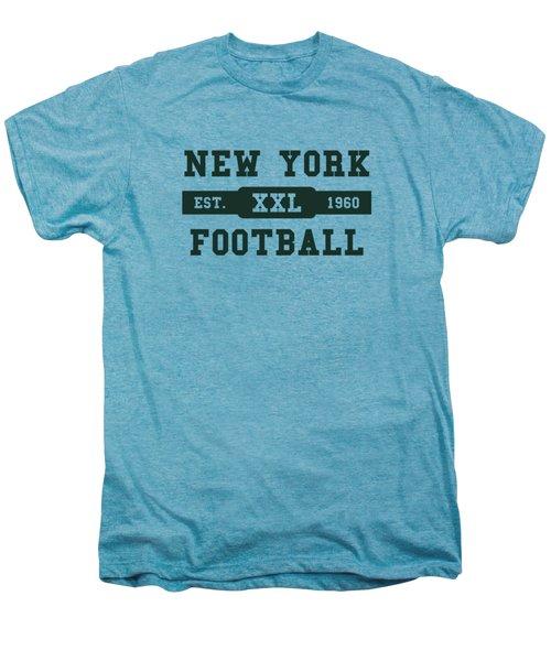 Jets Retro Shirt Men's Premium T-Shirt by Joe Hamilton