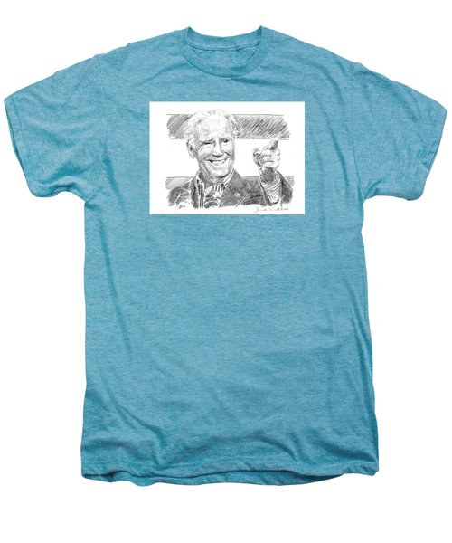 Joe Biden Men's Premium T-Shirt by Shawn Vincelette
