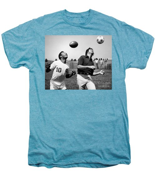 Joe Namath (1943- ) Men's Premium T-Shirt by Granger